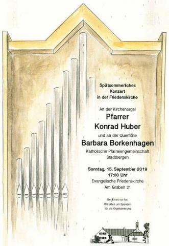 Konzert, Kirchenmusik